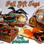 Fall printable gift tags to show your gratitude!