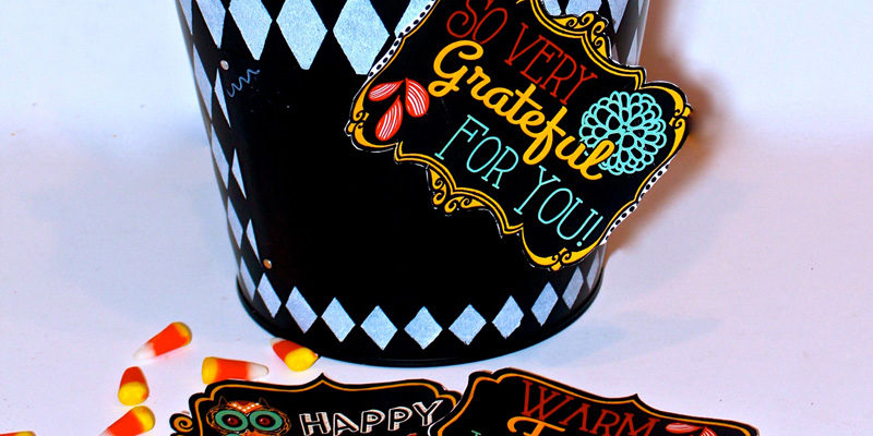Fall printable gift tags to show your gratitude!