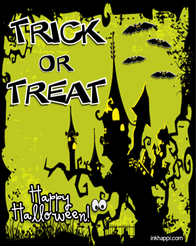 Spooky cute Trick or Treat free printable!