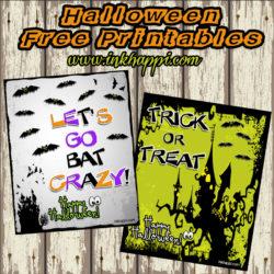Spooky cute Halloween free printables!