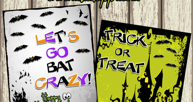Spooky cute Halloween free printables!