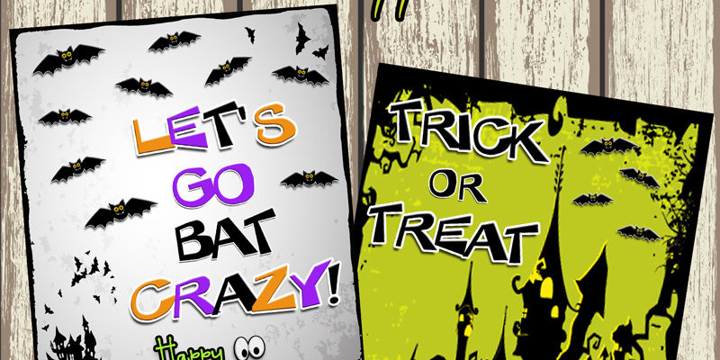 Trick or Treat Prints …Happy October!