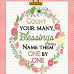 Count Your Blessings …and A Very Exciting Announcement!