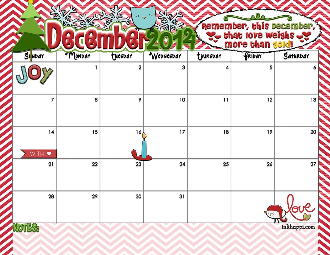Kids Christmas Calendar : December calendar is here yep inkhappi