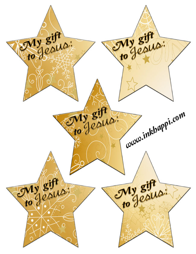 Oh Holy night Christmas Carol print and activity with stars for a christ centered Christmas Activity