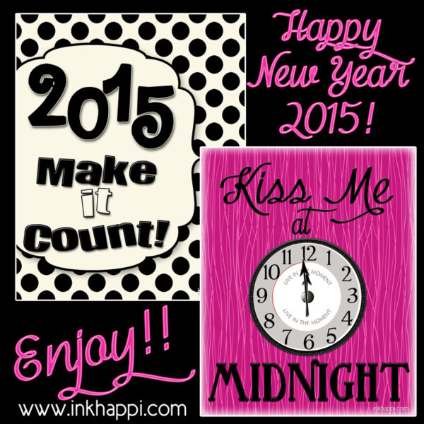 New Years prints to celebrate and motivate success in the new year!