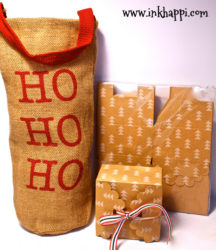 Packaging is everything. Really, I could get a Rock for a gift and if it's packaged pretty then I'd be happy! here's some cute boxes and a burlap bag that will help!