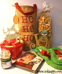 A stash of Holiday goodies which I will show more detail-------->>