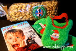 Put on cozy socks, grab some caramel popcorn (my fav) and watch a holiday movie. I haven't seen Home Alone in a few years so it is on my list this year!