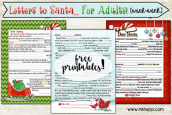 Adult Santa Letter! {wink-wink} 2014 version is here!