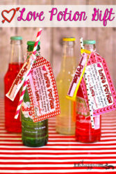 Love Potion Valentine Gift Idea… How Sweet it is!