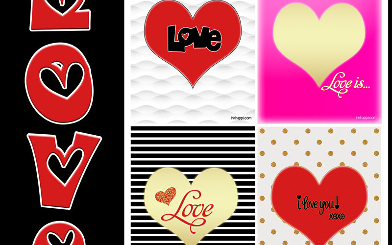 Love Prints and Notecards to express love year-round!