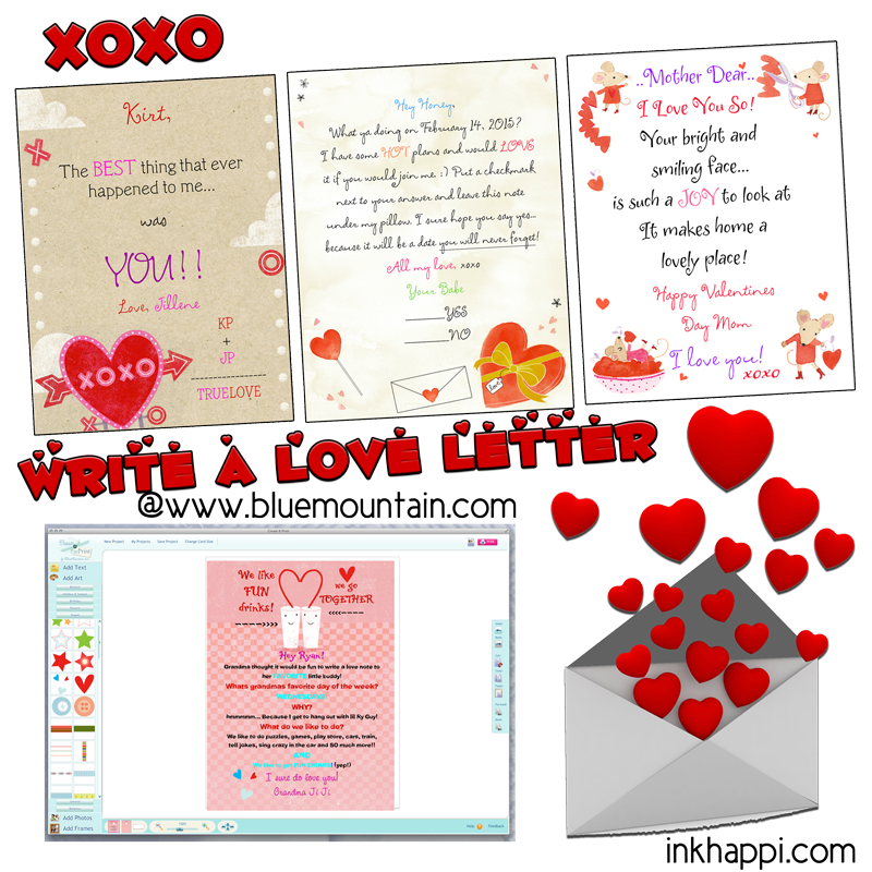 Love Letters and a $100 giveaway to take out your sweetie!