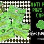 St Patricks Day facts, anti-pinch cards, and more!