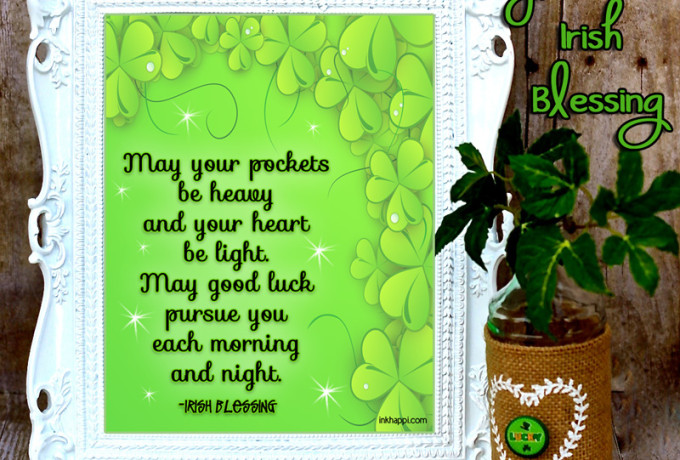 This St Patricks Day give well wishes, not pinches! Lots of Irish Blessings and free printables!