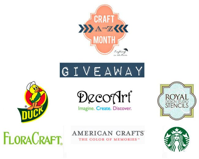 A crafters dream giveaway!Giveaway runs 3/28/15 - midnight 4/4/2015.