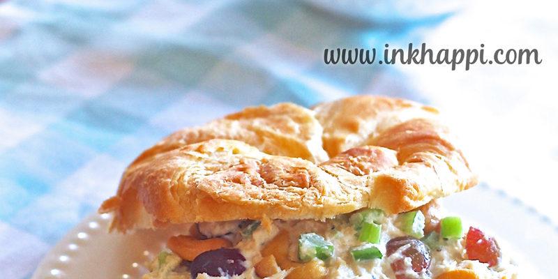Simple Chicken Salad Sandwich… Its so Yummy I die!