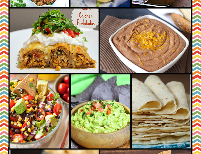 Mexican Food Round-Up. It's what's for dinner!!