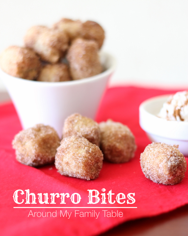 These look amazing! Churro Bites from Around My Family Table :)