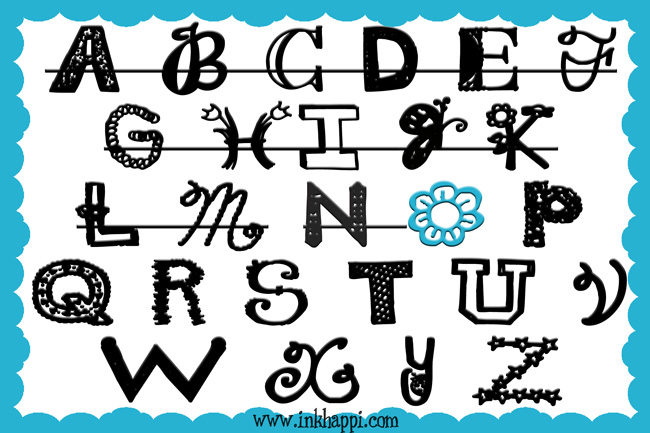 """Sharing the alphabet of free fonts. Some of my favorite free """"O"""" fonts."""