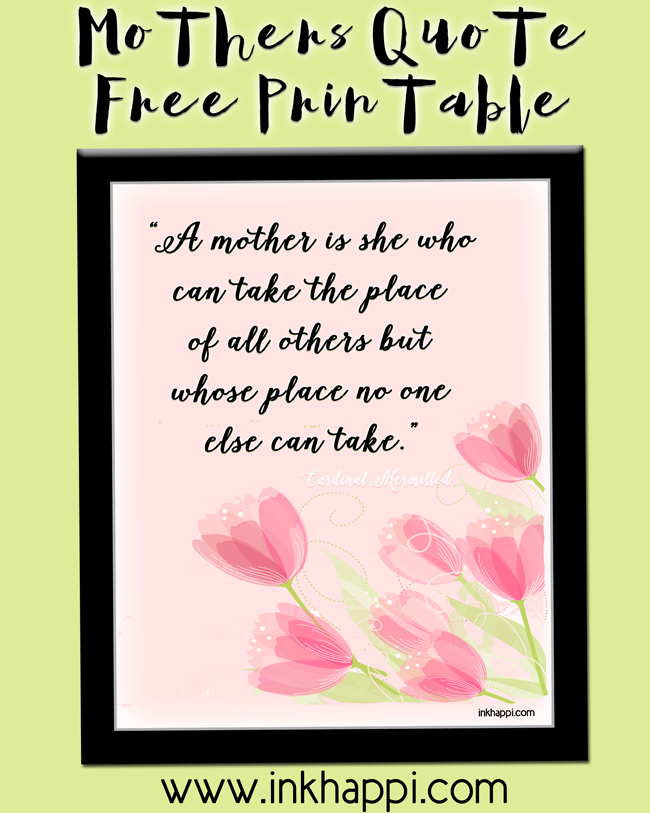 Love You Mommy Quotes Fascinating Mother I Love You Mothers Day Quotes & Prints  Inkhappi
