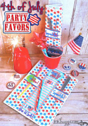 4th of July Party favors… Cheap and easy DIY!