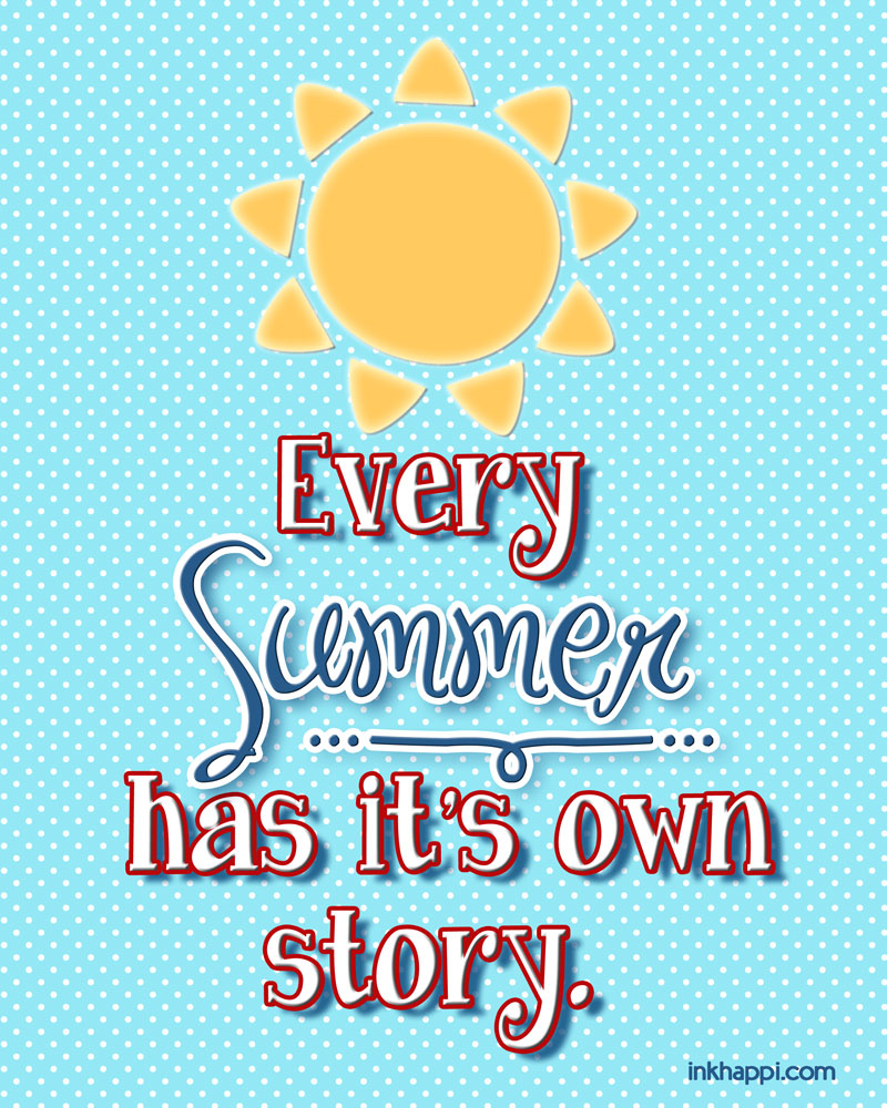 a personal narrative about enjoying the summer Free personal narrative papers, essays,  last summer i participated in the rayado program at  while there is nothing wrong with happiness and enjoying.