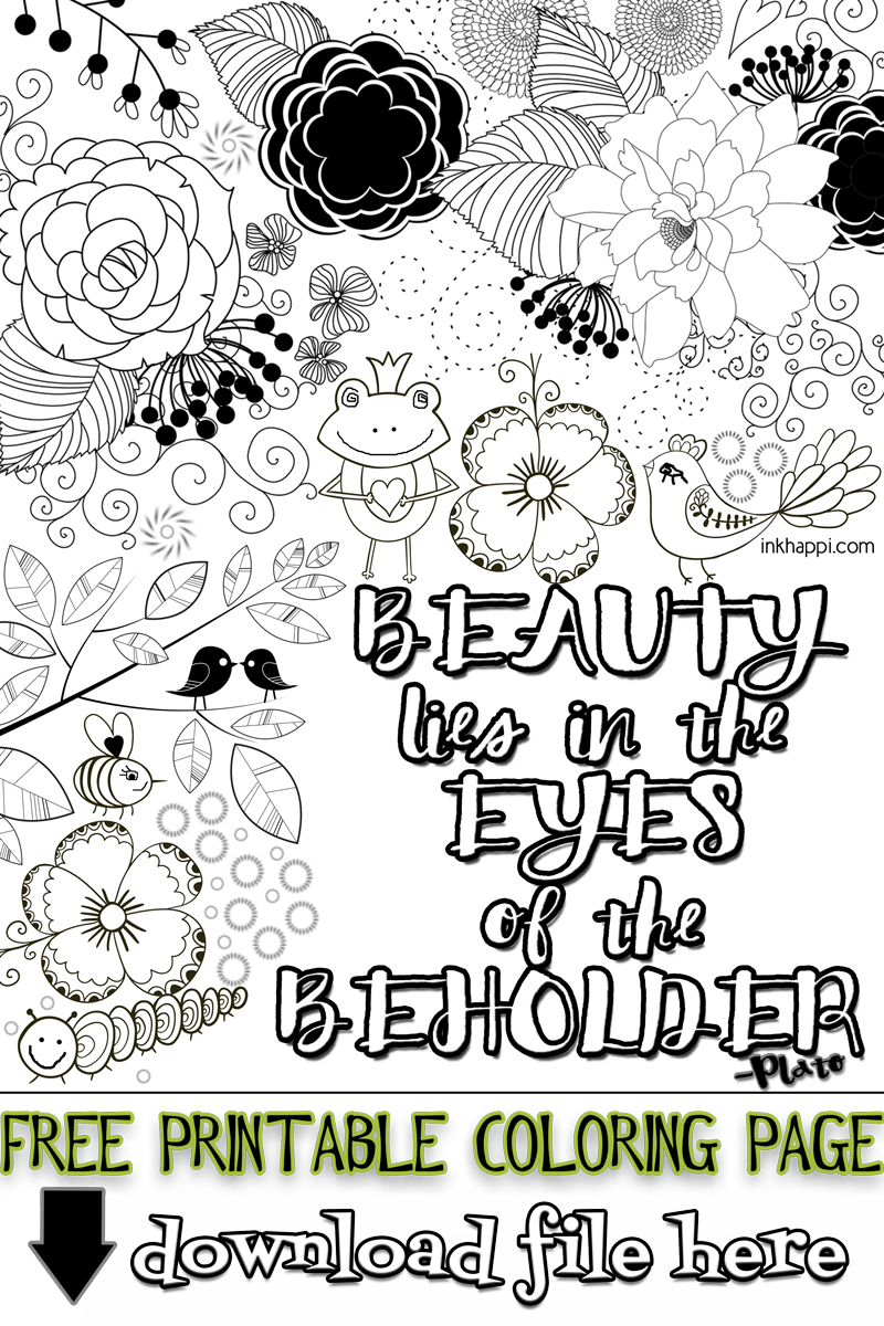 free adult coloring page printablesnot only is it calming and good for your health - Free September Coloring Pages