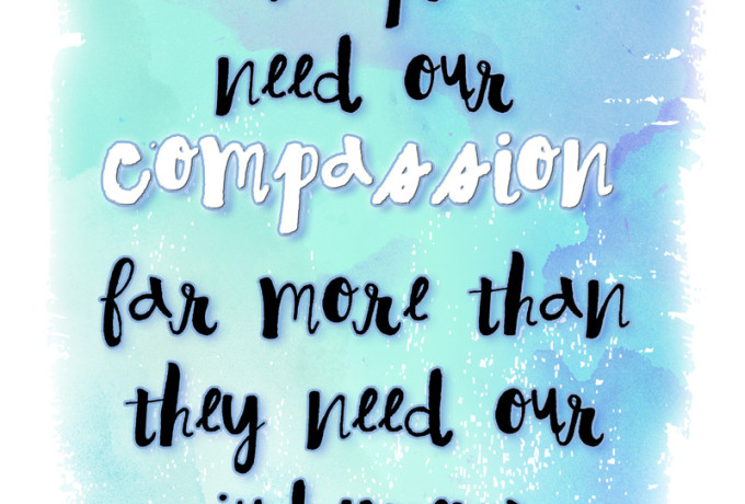 Love and compassion are necessities, not luxuries. Without them humanity cannot survive. How the internet has made us mean and 5 tips to help spread internet kindness. Free printables!