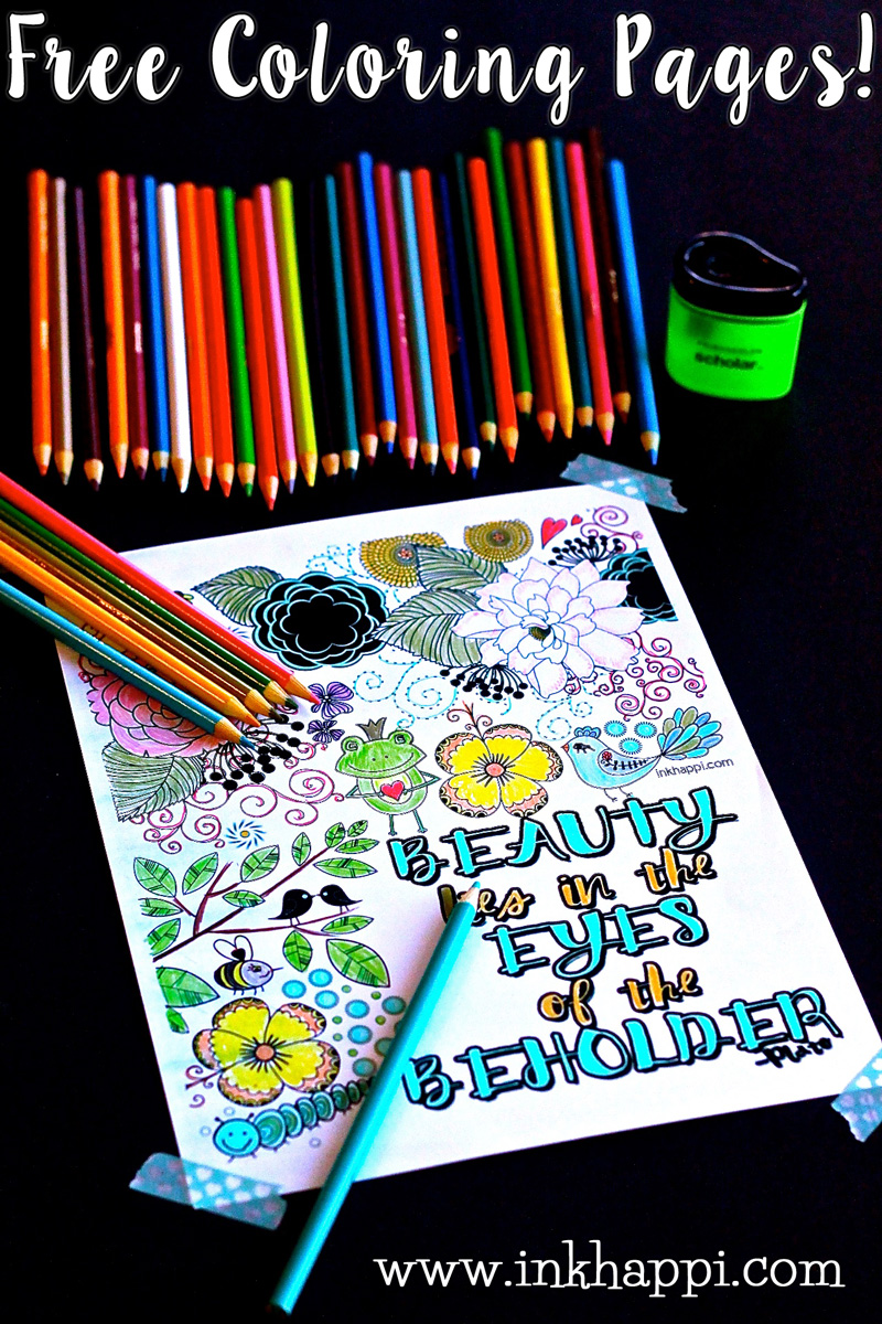 Free Adult Coloring Page PrintablesNot Only Is It Calming And Good For Your Health