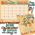 November 2015 Calendar is available at inkhappi!