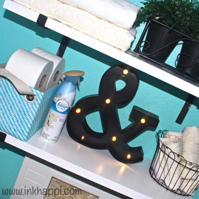Guest bathroom Ideas and 5 Tips for getting your bathroom guest ready