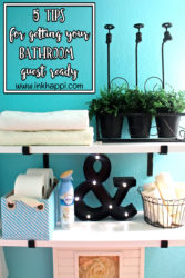 A Peek Into My Guest Bathroom And How I Get It Guest Ready