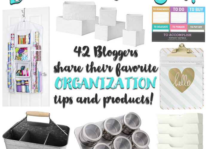 Over 40 clever organization tools to make life easier!