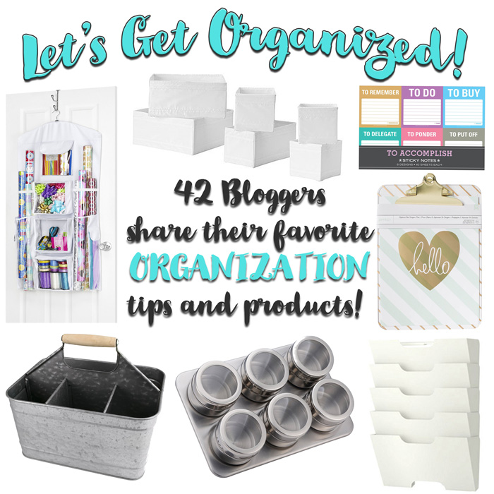 Over 40 clever organiztion tools chosen by bloggers to make your life more efficient!