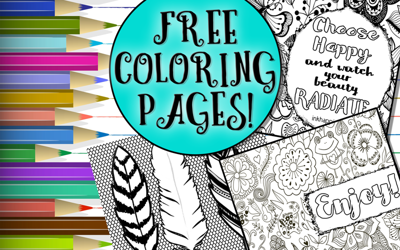 Free Printable Coloring Pages oh so fun and inspiring!
