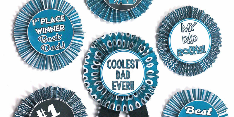 Fabulous Fathers Day Craft from 1 Simple Printable