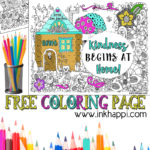 Kindness Begins at Home… A Coloring Page and a Message