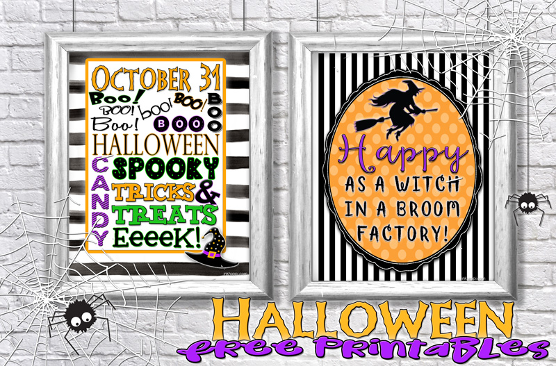 some free halloween prints to add some fun to your halloween decor - Halloween Prints