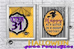 Halloween Prints to add some fun to your Halloween decor!