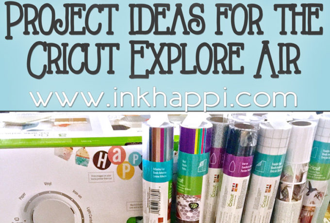 Why I love my Cricut and all the exciting Cricut Explore projects I can't wait to do!