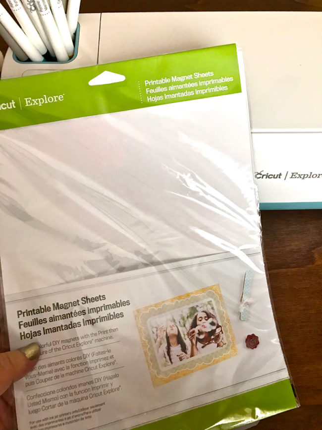 It's just a photo of Crafty Cricut Printable Magnet Sheets