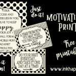 Motivational prints and quotes to help put your plans into action!