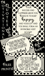 Motivational Prints to start the New Year off right!
