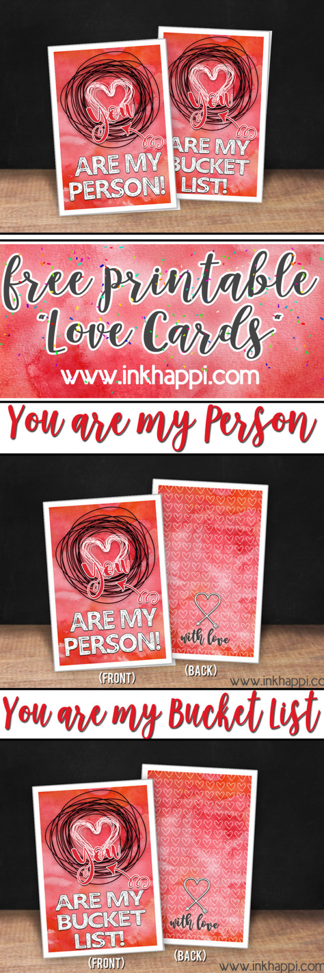graphic about Free Printable Love Cards titled Absolutely free Printable Take pleasure in Playing cards That Wed All Take pleasure in Towards Recieve