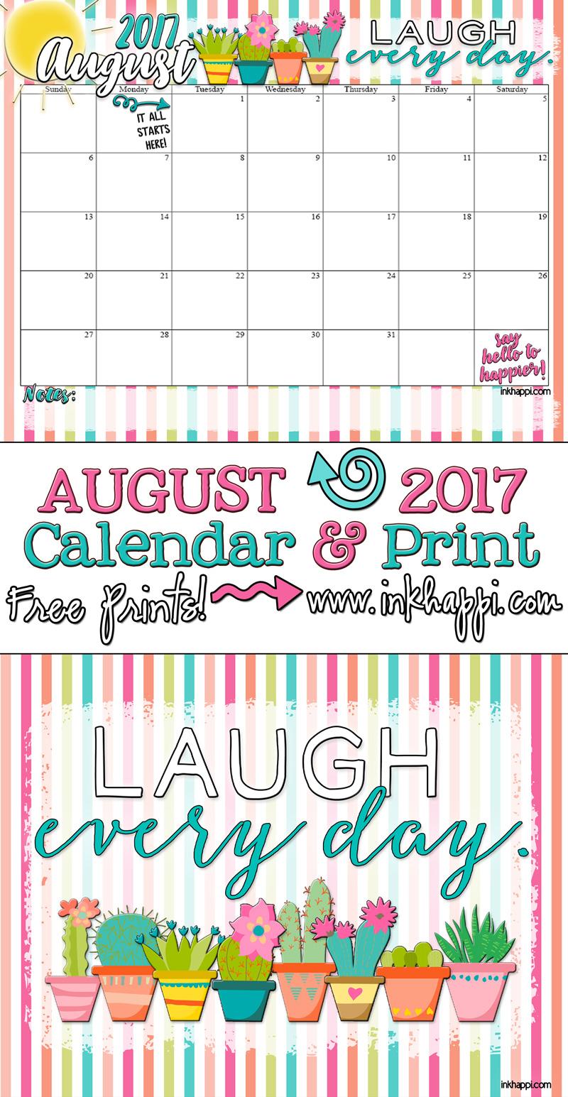 August Calendar August 2017 Calendar i...