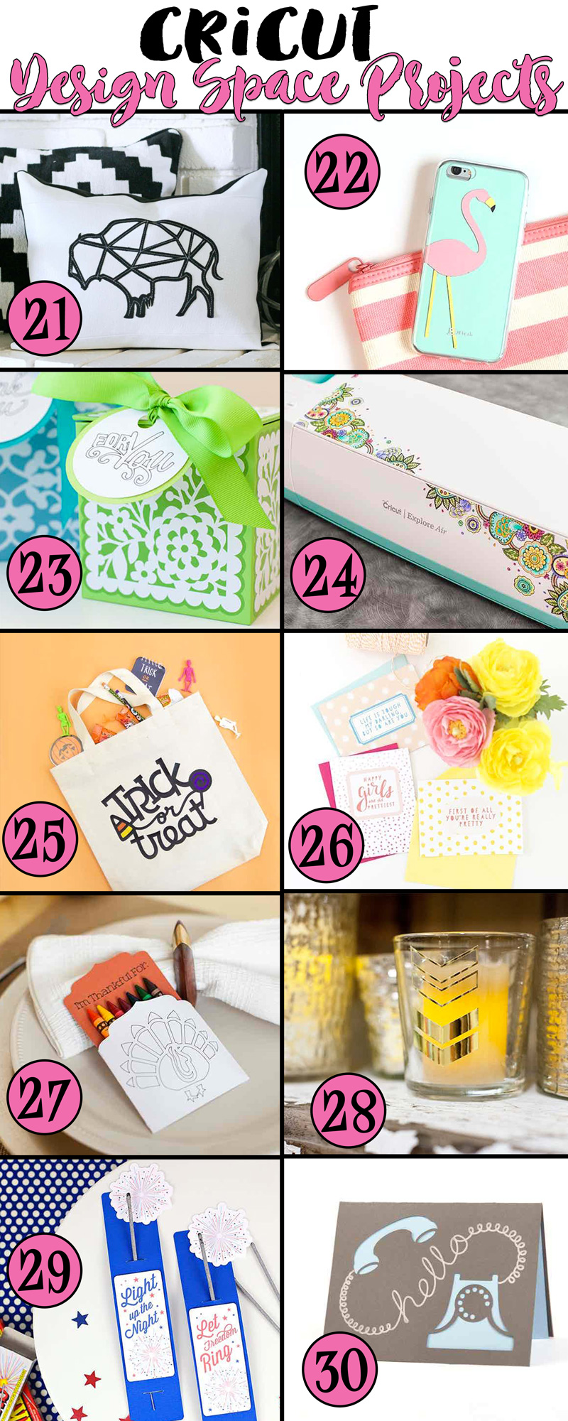 30 Cricut Project Ideas And I 39 M In Love With A Machine