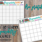 Children's Responsibility Charts. Free Printables!