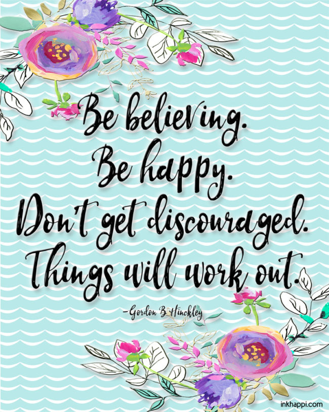 Finding Joy Amid Trials with free printable quotes