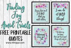 Finding Joy Amid Trials with free printable quotes #freeprintables #Trials #findjoy #quotes